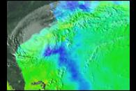 Microwave Imager Measures Sea Surface Temperature Through Clouds