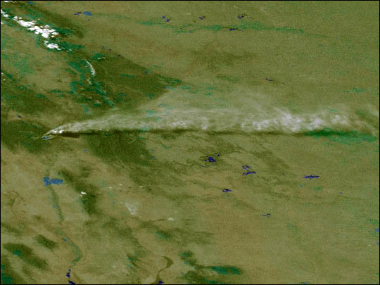 GOES-10 Images Los Alamos Fires - related image preview