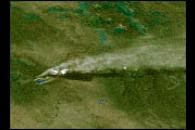 GOES-10 Images Los Alamos Fires