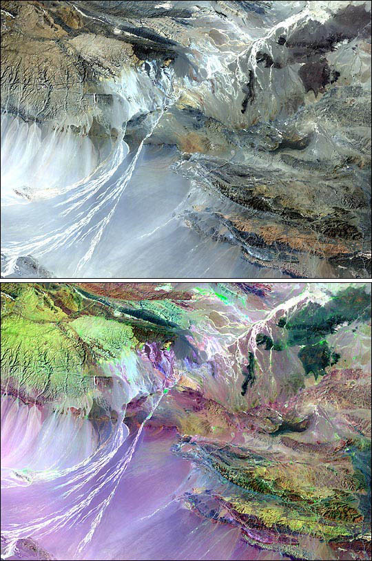 Scientists Use NASA Landsat Data to Hunt for Dinosaur Fossils