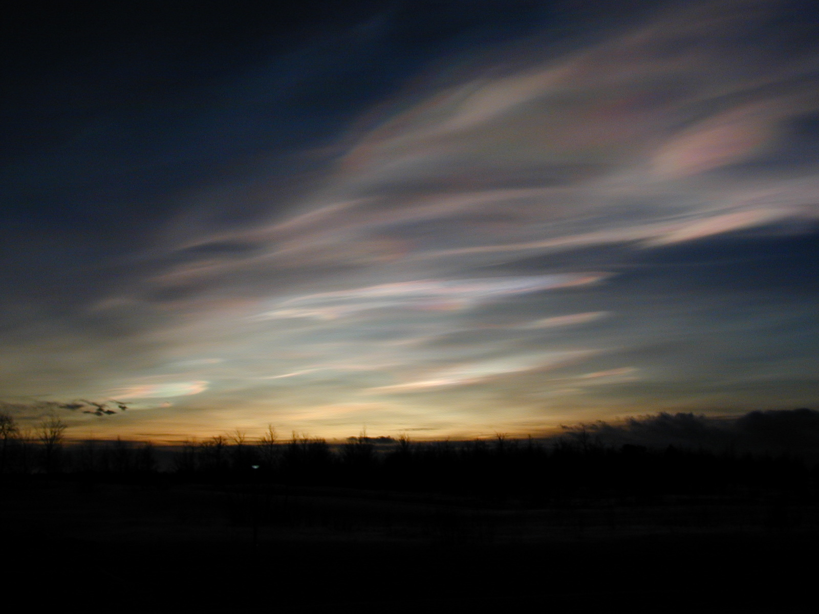 Polar Stratospheric Clouds - related image preview