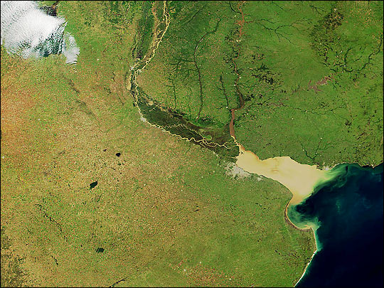 Argentina from MODIS