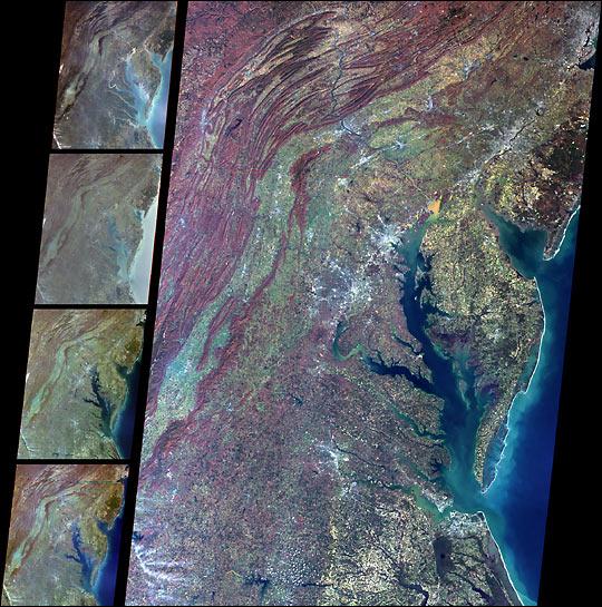 Multi-angle views of the Mid Atlantic