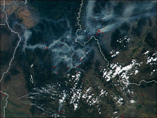 Satellite Data Used to Combat Fires