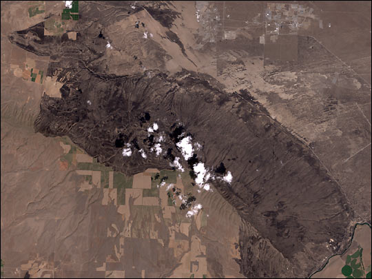 High Resolution View of Hanford, Washington