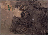 High Resolution View of Hanford, Washington - selected image