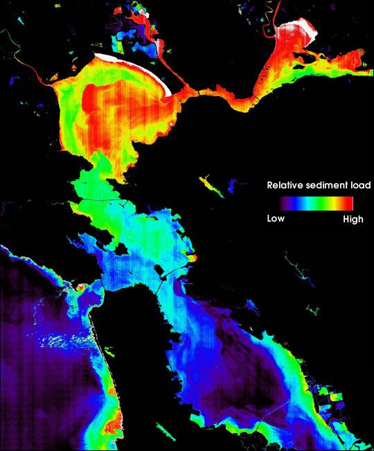 San Francisco Bay Sediment Concentration