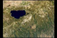 Color and 3D views of the Sierra Nevada mountains