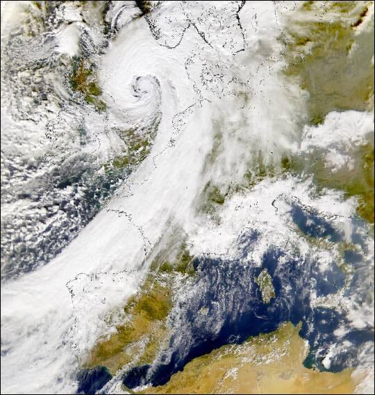Superstorm Sweeps Over England