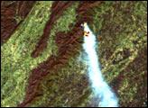 Fires in Shenandoah National Park