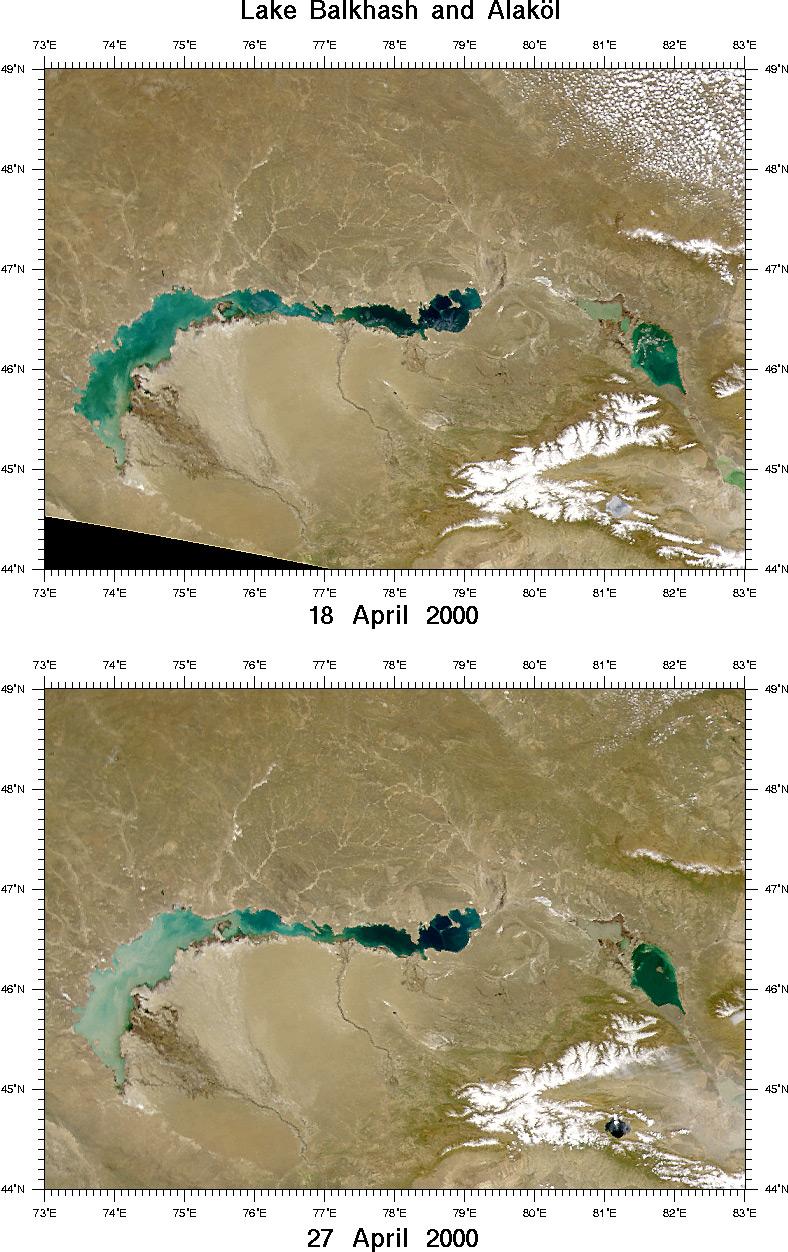 lake balkhash map - photo #33