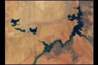 New Lakes in the Egyptian Desert