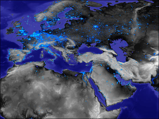 City Lights of Europe