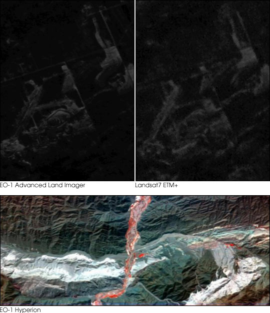 First Images from EO-1 Satellite