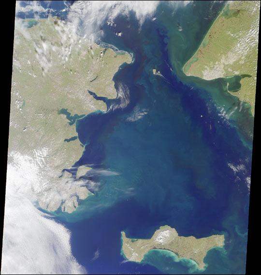 MISR Sights the Bering Strait