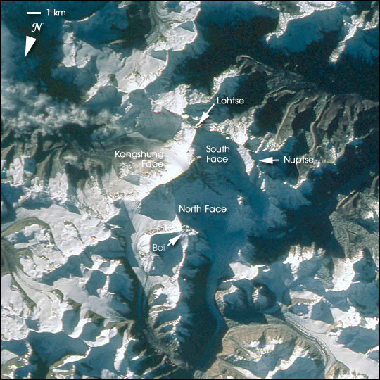 Mount Everest (Chomolungma, Goddess Mother of the World) - related image preview
