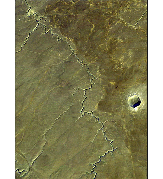 Barringer Meteor Crater, Arizona