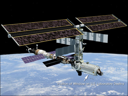 The International Space Station's New Destiny Module