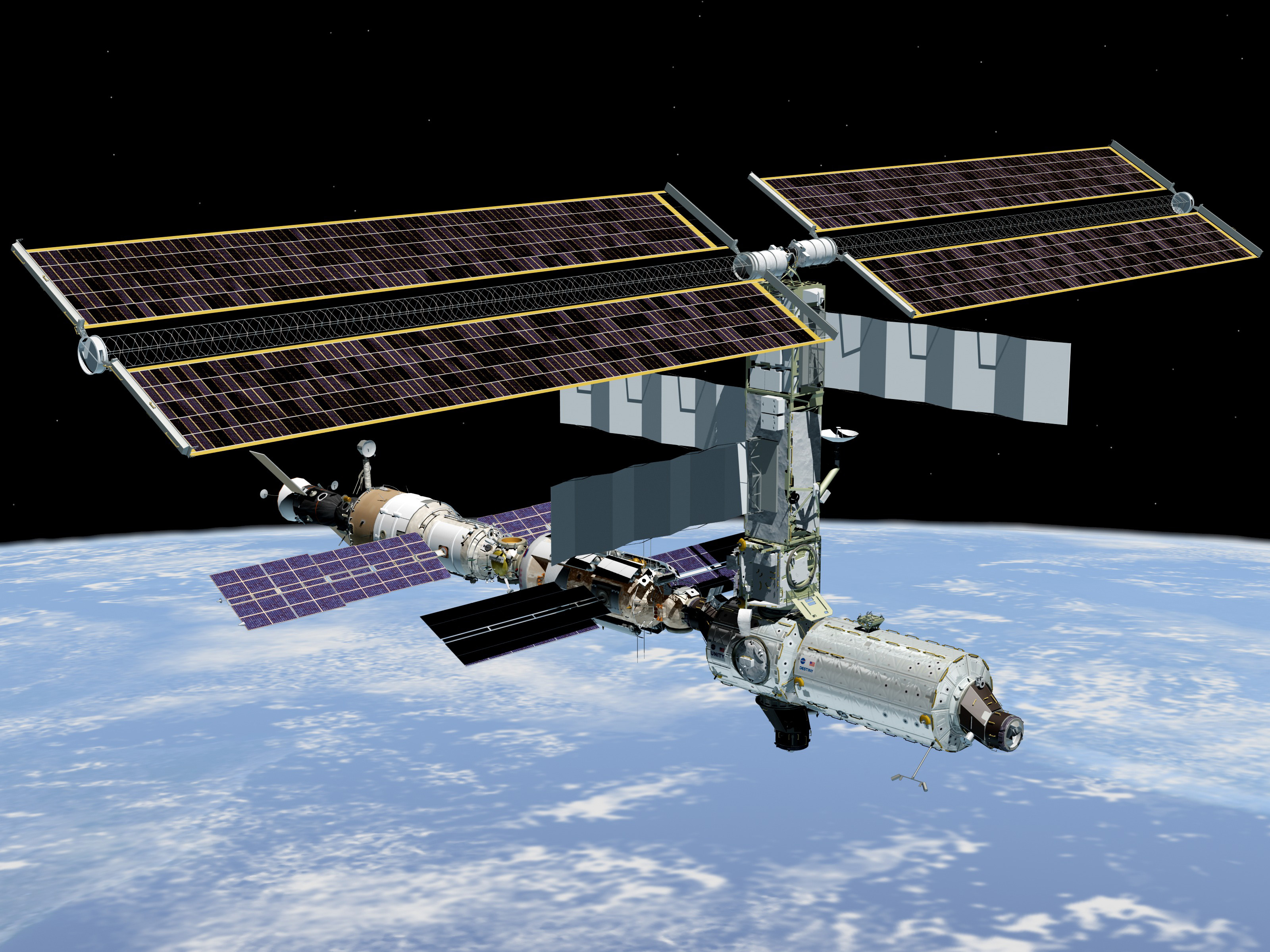 The International Space Station's New Destiny Module ...