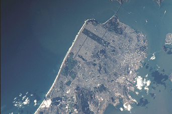 San Francisco from the International Space Station - related image preview