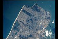 San Francisco from the International Space Station