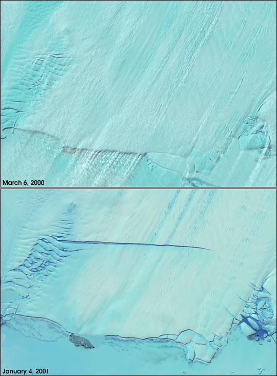 Birth of an Iceberg