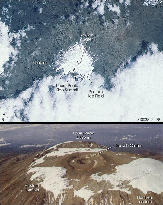 Kilimanjaro—The Shining Mountain