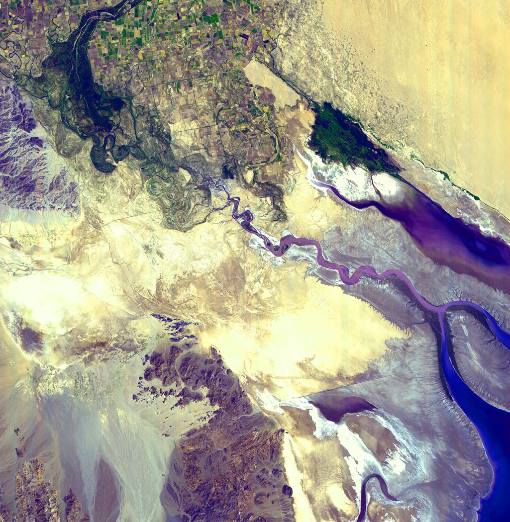 Colorado River Delta : Image of the Day