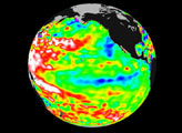 Warm Ocean Temperatures Blanket the Far-Western Pacific