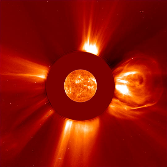 Biggest Solar Flare on Record