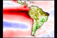The Link Between Sea Surface Temperature and Vegetation