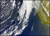Asian Dust Arrives Over California