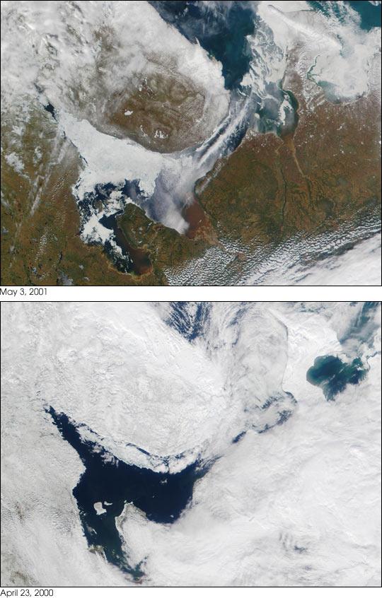 The White Sea, Russia
