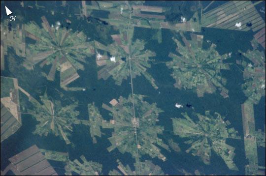 Tierras Bajas Deforestation, Bolivia