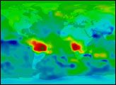 First Global Carbon Monoxide (Air Pollution) Measurements