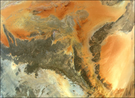 Central Sahara: A Wet Past