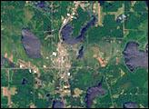 Tornado Hits Siren, Wisconsin