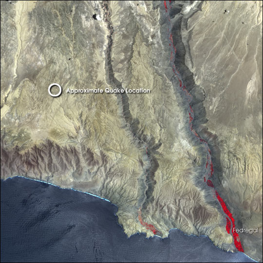 Earthquake Epicenter, Peru