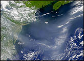 Code Red Air over the Mid-Atlantic States