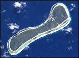 Atolls in the Tuamotu Archipelago, French Polynesia