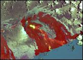 Lava Tubes on Mt. Kilauea