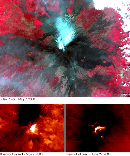 The Continuing Eruption of Mt. Etna - related image preview