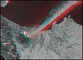 Stereo View of the Eruption of Mt. Etna