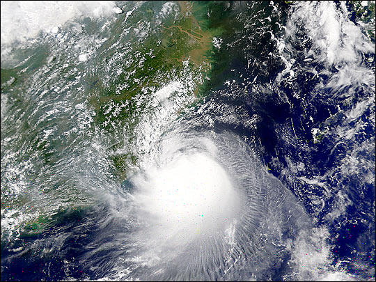 Typhoon Toraji