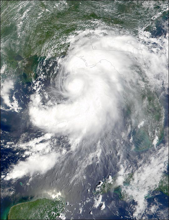 Tropical Storm Barry Strikes the Gulf Coast