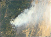 California Wildfires as Seen From the Space Shuttle