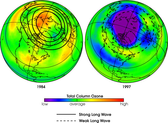 NASA Confirms Arctic Ozone Depletion Trigger