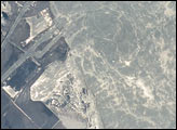 Biogenic Films at the Mouth of the Suez Canal - selected image