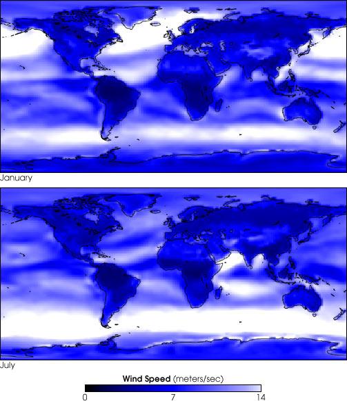 Global Wind Speed