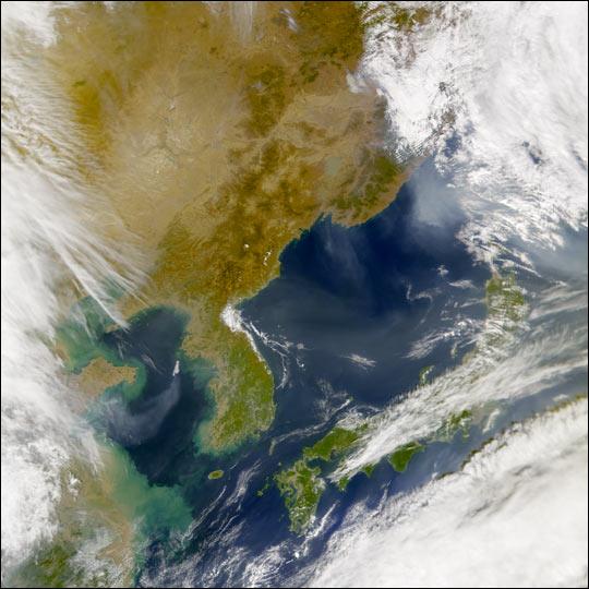 Aerosols over Eastern Asia